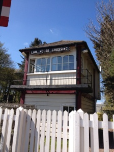 Low House Crossing signal box on the Settle-Carlisle line