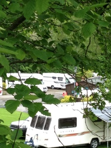 Jolly pitched up (back centre)