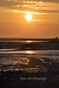 Ravenglass estuary sunset
