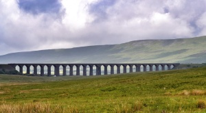 Ribblehead viaduct on the way home