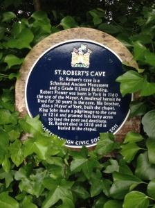 St Robert's cave