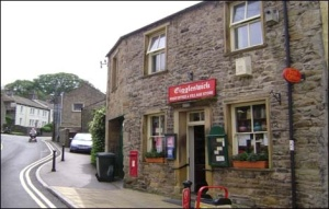 Old fashioned sweet shop, Giggleswick