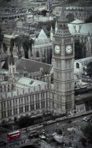 London Bus & Big Ben ~ Polka Shot Photography