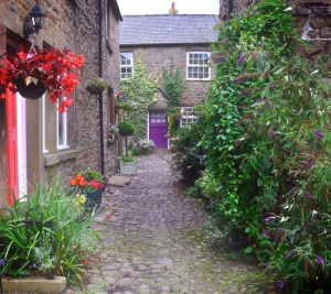 Cobbled alleyways