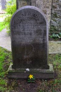 Lizzie Dean's grave