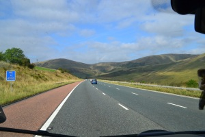 On the road to Keswick