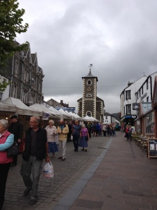 Keswick on market day