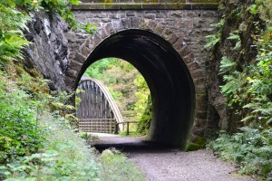 Old railway cycle route