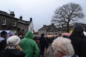 Arriving into Grassington for the Dickensian day