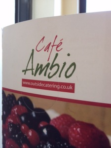 Refreshment stop at Cafe Ambio at the Lakeland Motor Museum http://www.lakelandmotormuseum.co.uk/cafe.php