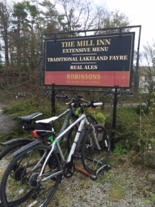 Tea time stop at The Mill Inn, Mungrisdale