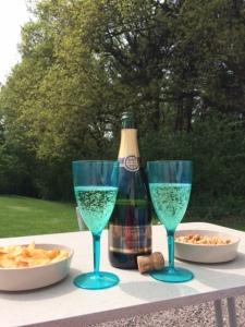 Celebratory bubbles :)