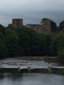 Barnard Castle - built 1125 by Bernard de Balliol  (Bernard's Castle from which the town derived its name)