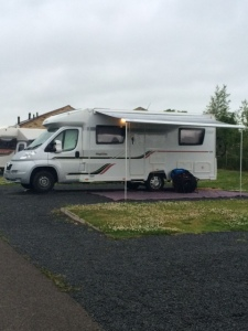 Pitched up at Barnard Castle