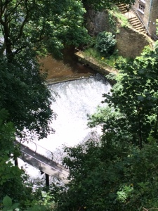 Weir at Torr Mill