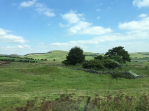 Beautiful weather and scenery en route to Bakwell
