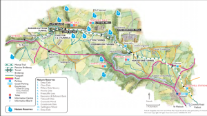 Map of the Monsal Trail