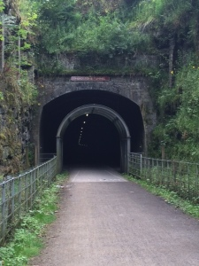 Entrance to the Monsal Head Tunnel along the Monsal Trail