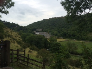 View of the Old Cressbrook Mill