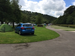 Hayfield Camping & Caravanning Club Site