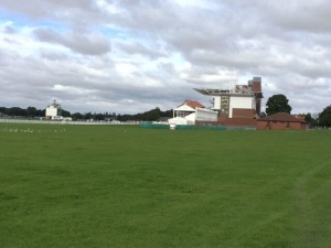Part of the trail crosses Chester racecourse