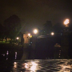 Night walk by the River Ouse