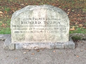 The grave of Dick Turpin (John Palmer)