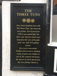 History of the Three Tuns Inn