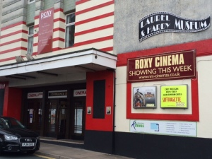 The Laurel & Hardy Museum is located on the ground floor of the Roxy Cinema