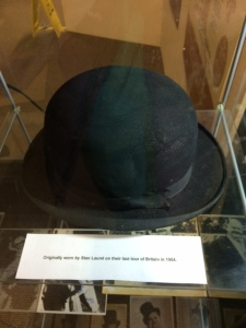 Hat worn by Stan on their last tour of Britain in 1954