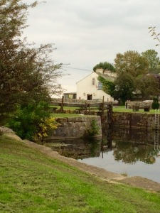 Canal towpath brings you to the Bay Horse Hotel