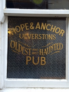 No ghosts on this visit but obviously plenty of 'spirits' 😉