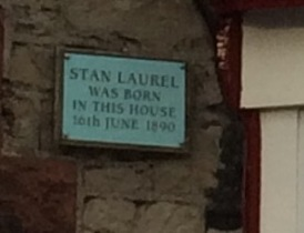 Plaque on the house