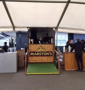 Marston's horse box bar