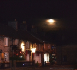 Festive charm in Castleton