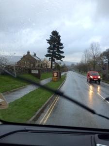 A rainy arrival into Castleton