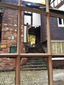 Bear Steps, viewed from the window seat of the Quirky Coffee & Gift Shoo
