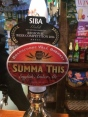 We had a pint of Summa This.
