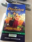 Raceday programme