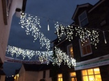Village centre lights