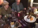 A delicious meal at The Queen's Head