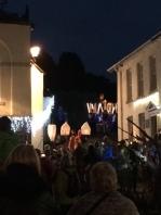 Village lantern procession