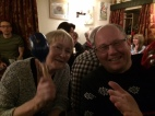 It was bouncing in the Kings Arms - Bri and Mum joining in with the live band