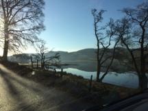 A scenic trip home