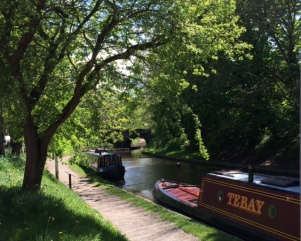 canalside in Audlem