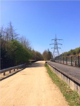 Trail at Woodhead Tunnel