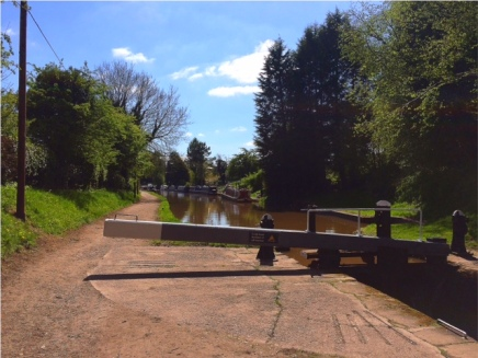 Ride into Audlem