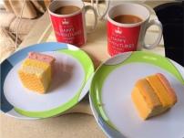 Cuppa & angel slice