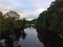 The River Ribble from Edisford Bridge