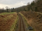 Lakeside & Haverthwaite Heritage railway line